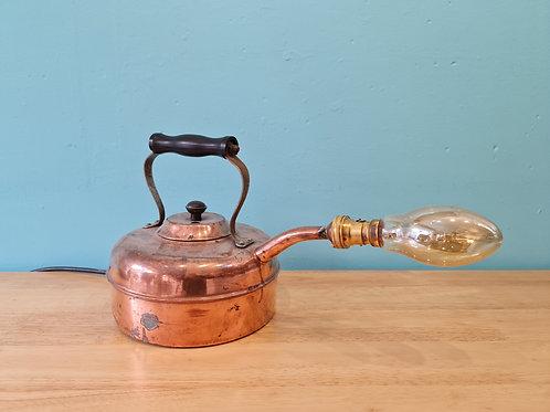 Copper Kettle Lamp