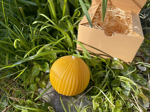Welsh Winter Beeswax Candle in Luxury Gift Box