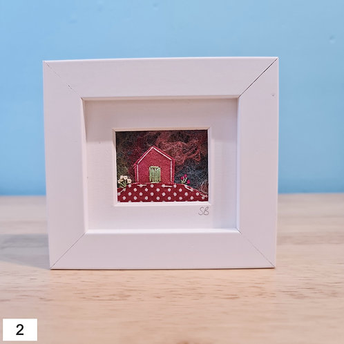 Anglesey Cottage Felt Pictures.