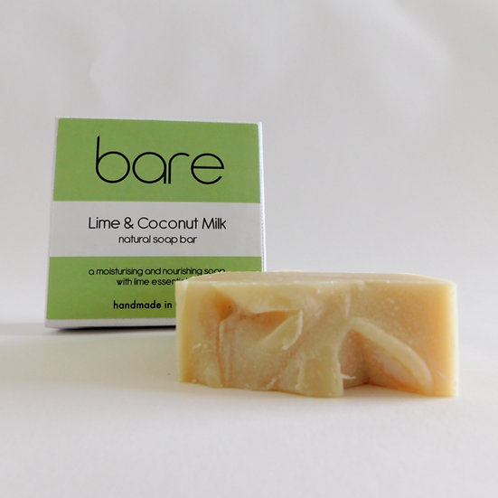 Coconut Milk & Lime Natural Soap