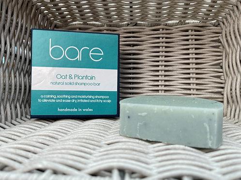 Oat & Plantain Shampoo Bar