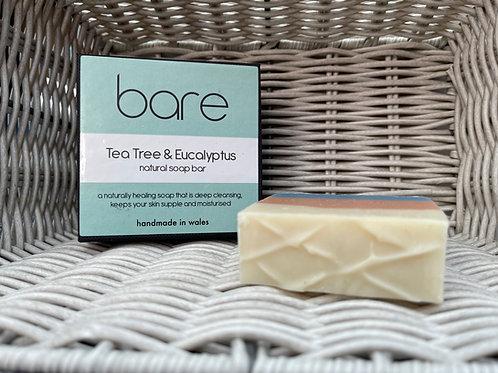 Tea Tree & Eucalyptus Natural Soap