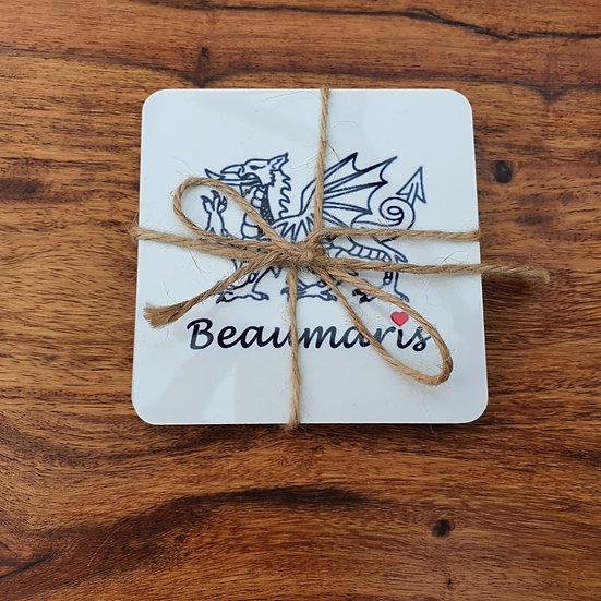 Welsh Dragon Beaumaris Coasters