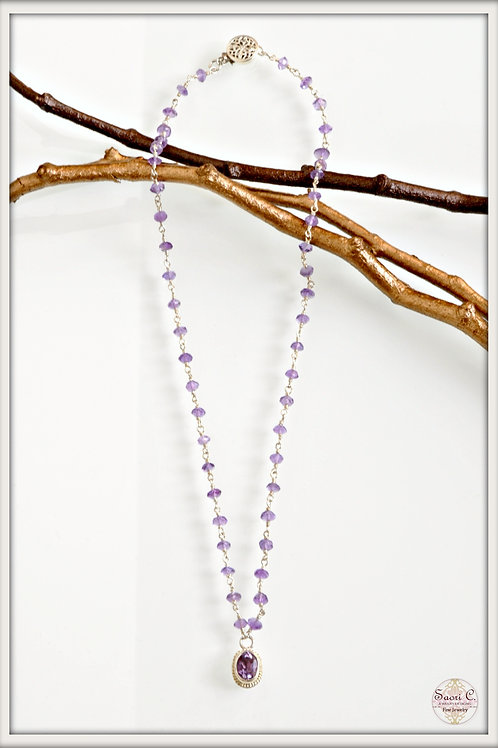 Lucky Charm Faceted Necklace