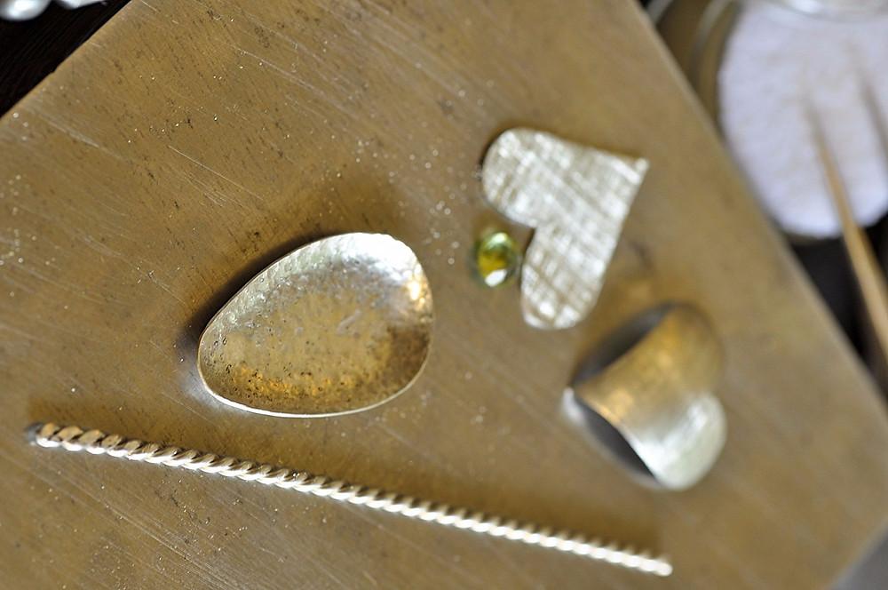 Silver Baby Spoon Components