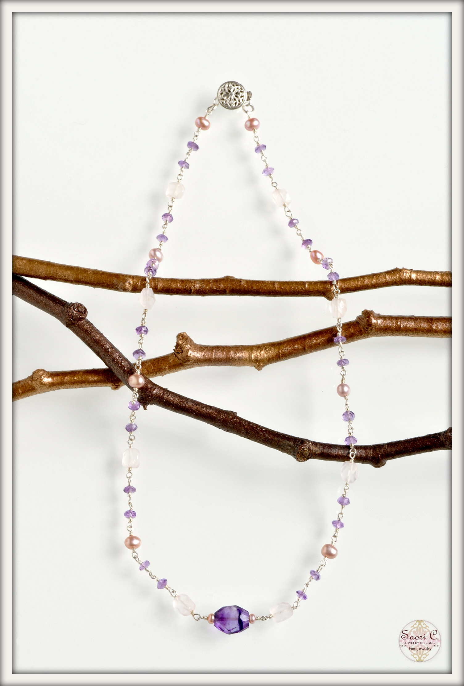 Instinct Pearl and Amethyst Necklace_new2