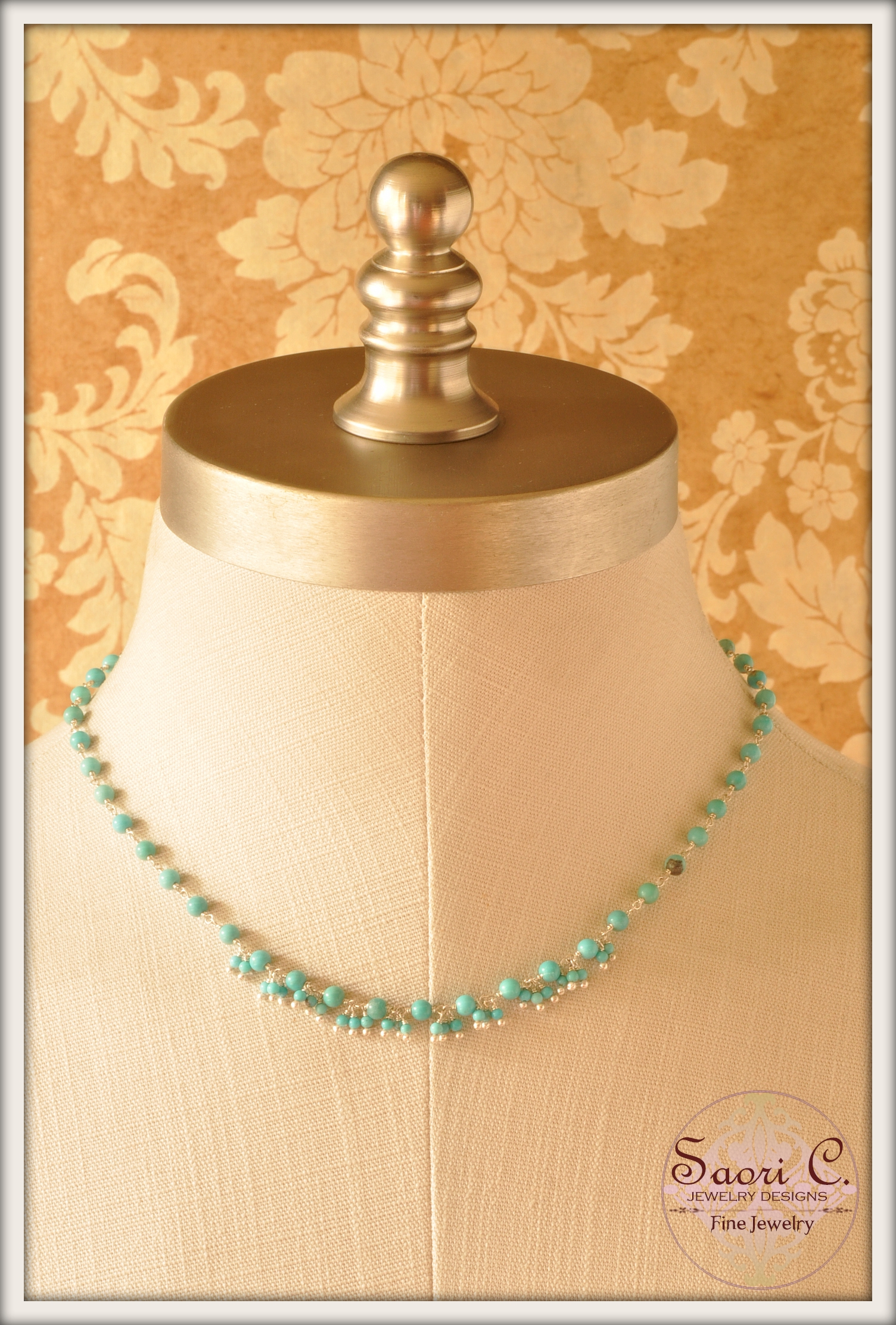 Baby Doll Turquoise Necklace
