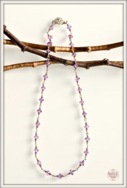 Confetti Amethyst and Garnet Necklace_new2