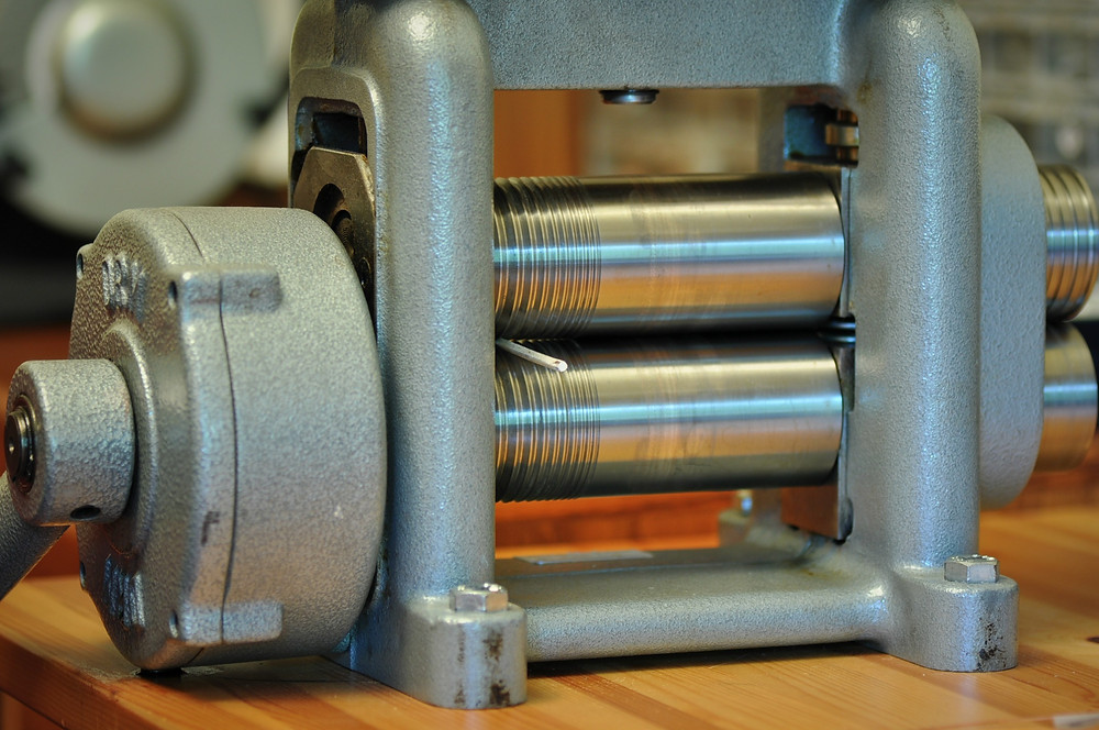 Rolling mill in action