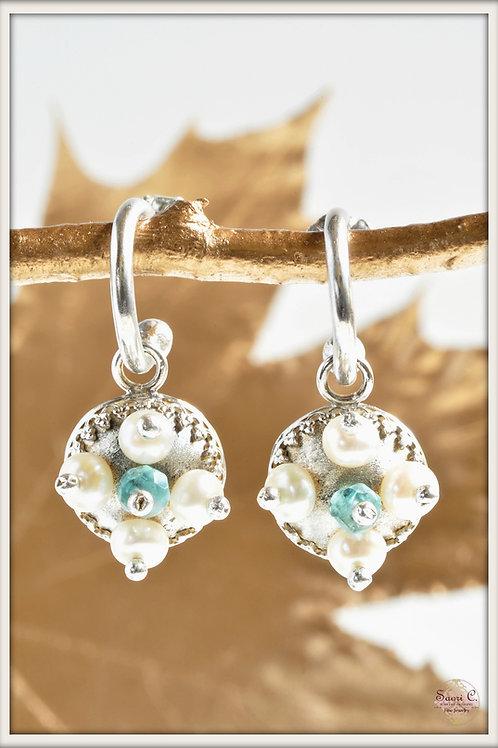 Aphrodite Hoop Earrings