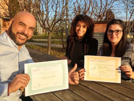 Cosmécert devient le premier certificateur accrédité COSMOS et fête son 50ème client