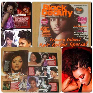 Black Hair and Beauty Magazine