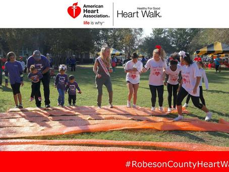 10/19 - Greenville Heart Walk w/ NC International Pageant