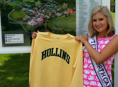 NC Int'l Pageant Sponsor, Hollins University, Tour & Breakfast with the President