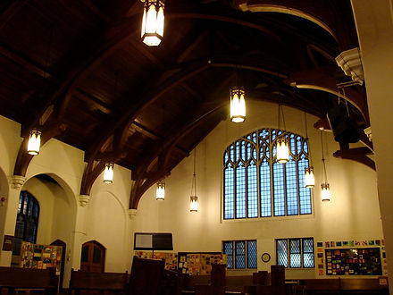Danforth Church sanctuary Toronto