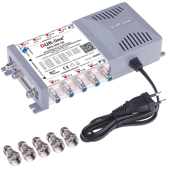 DUR-line DCS 552-16 - Einkabellösung für 2x16 Teilnehmer
