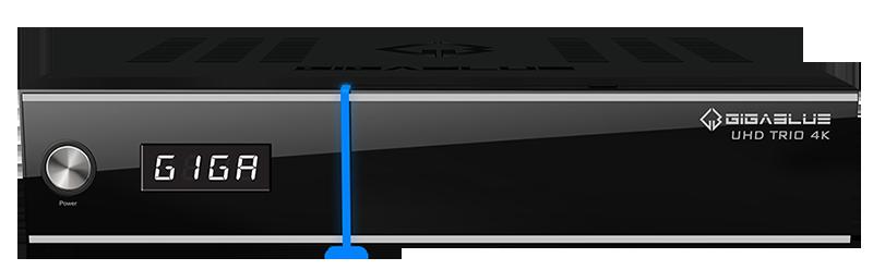 GigaBlue TRIO 4K UHD Linux SAT Hybrid Receiver DVB-S2X & DVB-T2/C IP Multiroom