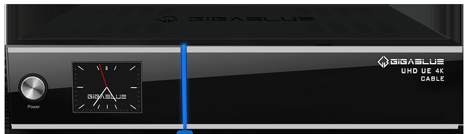 GigaBlue UHD UE 4K DVB-C Twin FBC Tuner für Kabel