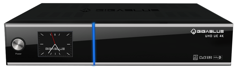 GigaBlue UHD UE 4K DVB-S2X Twin FBC Tuner für SAT