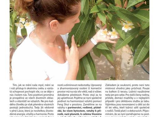 Eniologie člověka – časopis – Iva Matyášová – Feng shui a harmonické vztahy