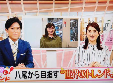 NHKの情報番組で弊社の『福』を呼ぶアクセサリーや『YAOYA PROJECT』の取り組みが紹介されました!!!