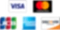 PayPal使用可能カード