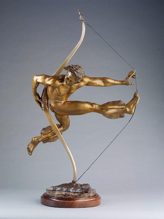 Arrow - Bronze Sculpture by Colleen Black