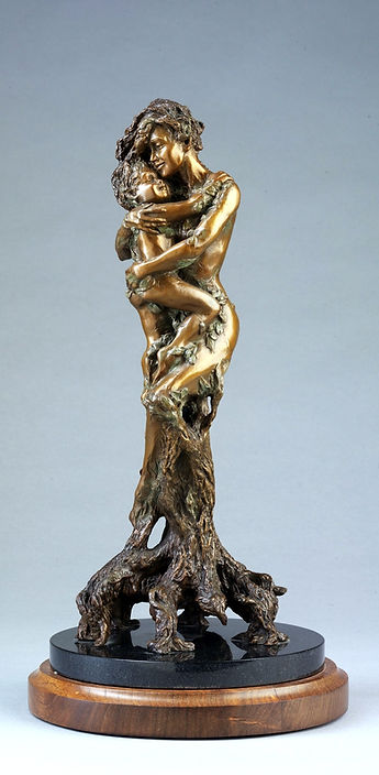 Tree of Life Bronze Sculpture by Colleen Black