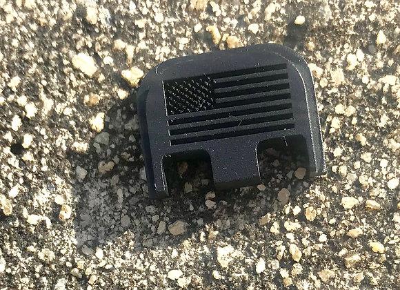 American Flag Glock Titanium Back Plate