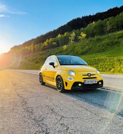 Autovermietung Steiermark Autoverleih Mietwagen Sportwagenmieten Leihwagen Abarth Fiat Abarth mieten