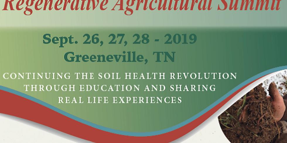 2019 Regenerative Agricultural Summit