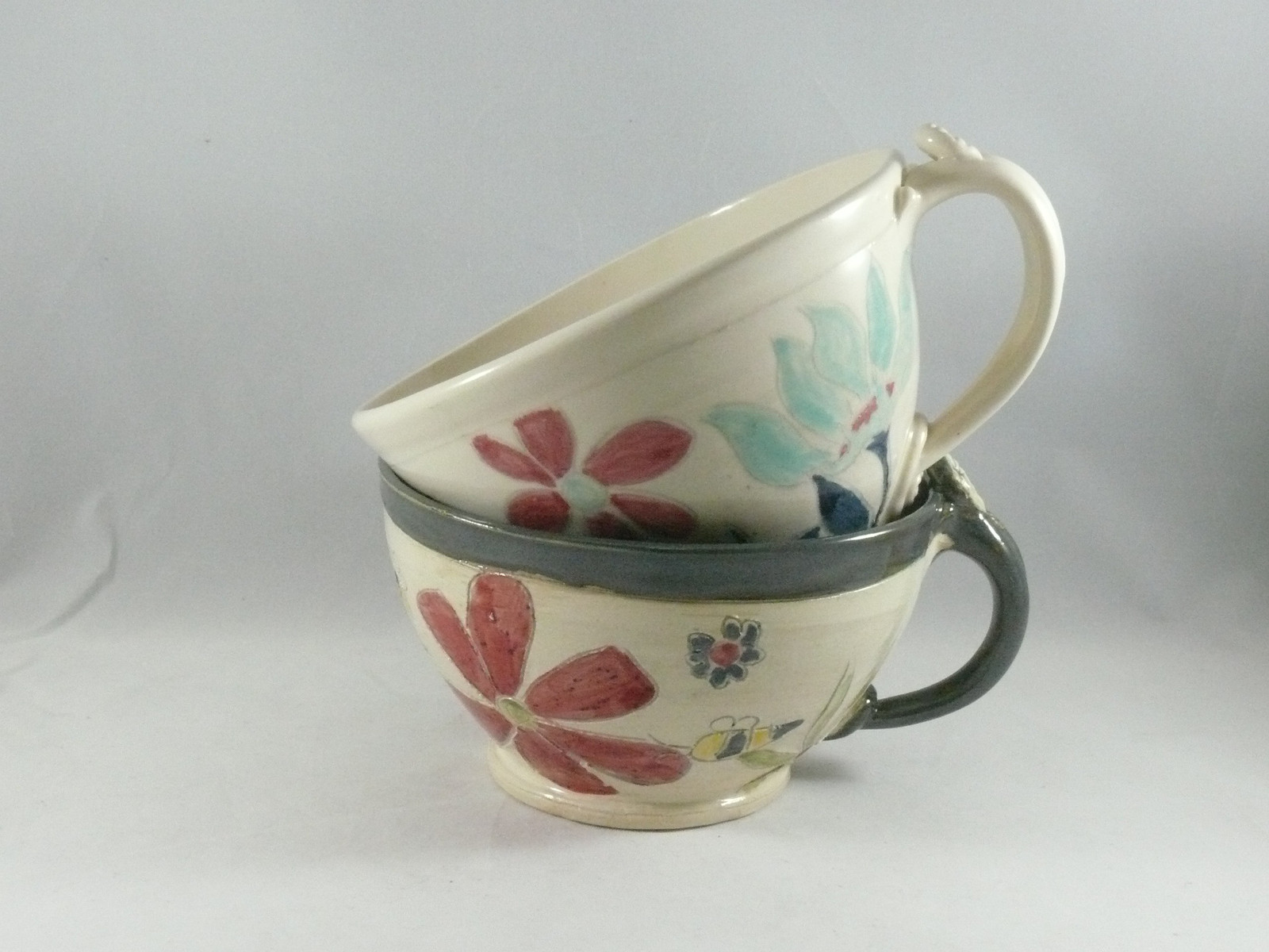 soup mugs latte cups