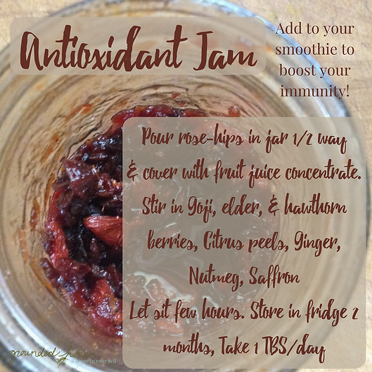 Antioxidant Jam Recipe to boost immunity