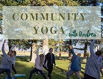 Community Yoga - 6 classes (standard rate)