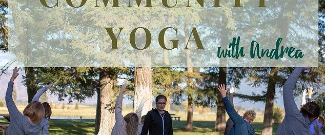 Community Yoga - 6 classes