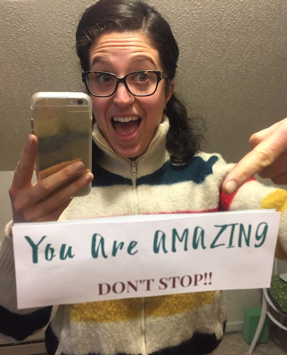 Andrea Catherine, You Are Amazing! Affirmations for your mirror