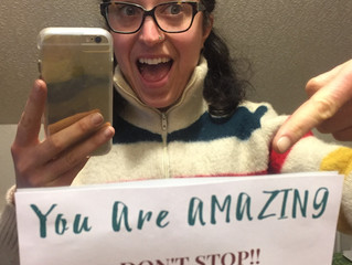 You Are Amazing! Don't Stop.