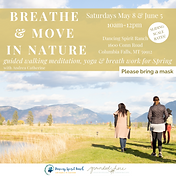 May 8 - Breathe & Move in Nature