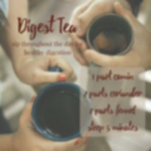 Diges Tea Recipe (Cumin-Coriader-Fennel)
