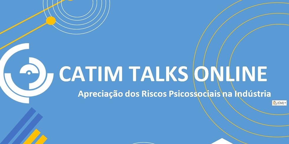 CATIM TALKS ONLINE   Apreciação dos Riscos Psicossociais na Indústria