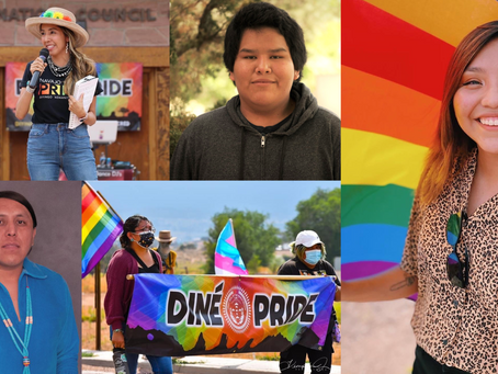 Student leaders honored with prestigious LGBTQ+ Pride Scholarships by the Navajo Nation