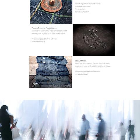Webseite Fashion  Friends