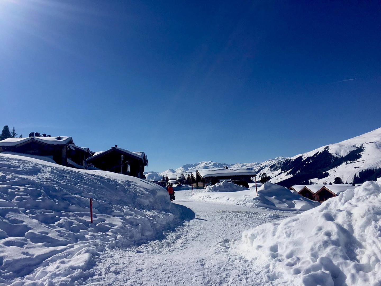 Winterwanderweg vor der Haustüre