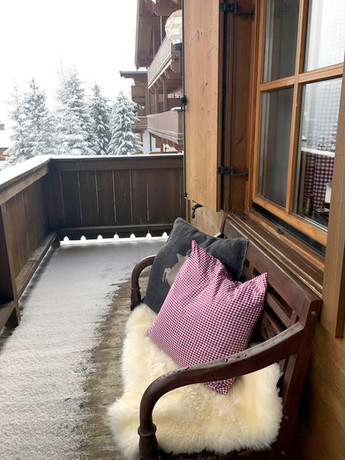Balkon Richtung Königsleiten