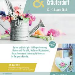 Plakat Gartenlust 2018 | Elsbach Haus