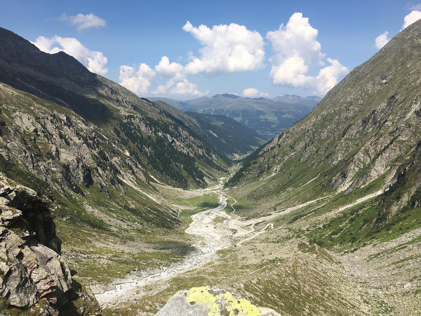 Wildgerlostal Richtung Zittauer Hütte