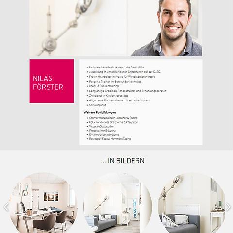 Webseitengestaltung Niklas Förster