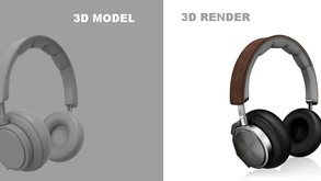 High-End 3D Product Rendering Services