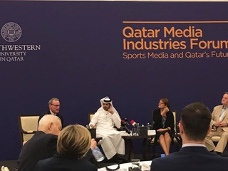 Sports media as a platform for Qatar's 2019 and 2022 events!