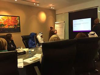 Social media masterclass in Qatar